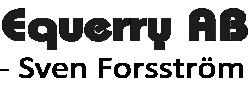Equerry AB – Sven Forsström